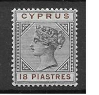 1894 MH Cyprus Michel 34 - Zypern (...-1960)