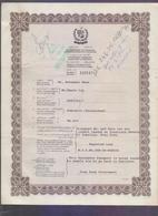 PAKISTAN EMERGENCY PASSPORT - Issued 1996 From HONG KONG - Pakistan