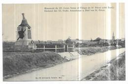 Saint Privat Monument Du 12e. Corps Saxon Et St Privat (coté Nord.) Denkmal Des XII. Sachs. Armeekorps U. Dorf Von... - Altri Comuni