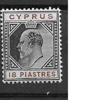 1903 MH Cyprus Michel 44 - Zypern (...-1960)