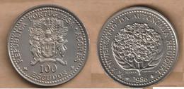 AZORES   100 Escudos (Regional Autonomy) 1986 Copper-nickel • 16.5 G • ⌀ 34 Mm KM# 45, Schön# 5 - Azores