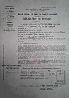 H 1 Facture/document Entete  Maison Spéciale De Santé De Neuilly Sur Marne - Sin Clasificación