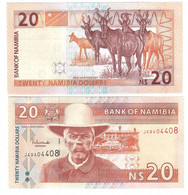Namibia - 20 Dollars 2003 UNC P. 6a Lemberg-Zp - Namibia