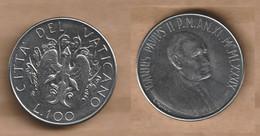 VATICANO  100 Lire -1989 Stainless Steel • 8 G • ⌀ 27.75 Mm KM# 216, Schön# 213 - Vatican