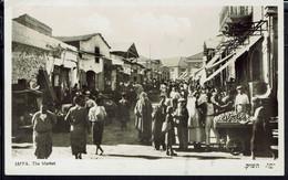 "Palestine - Carte Photo Glacé ""Jaffa The Market"" Ed. Eliahu Bros Tel-Aviv -B/TB - - Palestine"