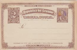 Ecuador Postcard 1890 - Ecuador