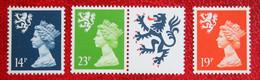 14p 23p 19p MACHIN Scotland (Mi 49-51) 1988 1989 POSTFRIS MNH ** ENGLAND GRANDE-BRETAGNE GB GREAT BRITAIN - Scotland