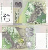 Slovakia - 20 Korun 2000 UNC Comm. P. 34 Lemberg-Zp - Slovakia