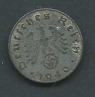 Monnaie   Allemagne   5 REICHSPFENNIG 1940 Pic 5410 - 5 Reichspfennig