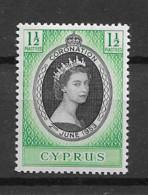 1953 MNH Cyprus Michel  163 - Cyprus (...-1960)
