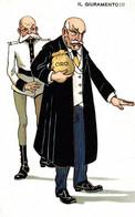 CPA - WW1 WWI Propaganda Propagande - KAISER - Giovanni Giolitti - Umoristica Satirica, Humour Satirique - NV - KV023 - Oorlog 1914-18