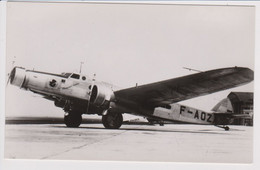 Vintage Rppc AF Air France A.F. Dewoitine D 333 Aircraft - 1919-1938