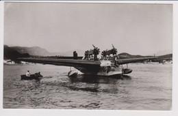 Vintage Rppc AF Air France A.F. Liore En Olivier 24 Flying Boat Aircraft - 1919-1938