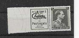 België  Pub N° 108  Xx Postfris  Cote 40 Euro - Advertising