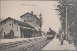 La Tour Du Pin , Train En Gare , Animée - La Tour-du-Pin