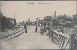 Livry Gargan , Le Train De Livry , Passage à Niveau , Animée - Zonder Classificatie