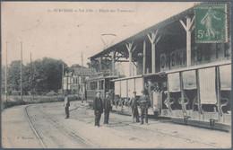 Suresnes , Val D'Or , Dépot Des Tramways , Animée - Suresnes