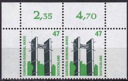 BRD,  1997, Nr. 1932 ** Sehenswürdigkeiten (XX),  Ein Paar Mit Oberrand - Neufs