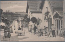 Lurcy Lévy , Avenue De La Gare , Animée - Andere Gemeenten