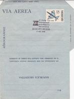 ARGENTINA. 2º FERIA INTERNACIONAL DE MAQUINA HERRAMIENTA, MACHINE OUTIL. 1976 SPC AEROGRAMME.- LILHU - Factories & Industries