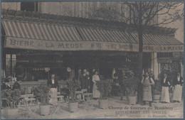 Champ De Course Du Tremblay , Restaurant Des Sports , Anciennement Mr Vierfond , G. Baudoin Successeur , Animée - Andere Gemeenten