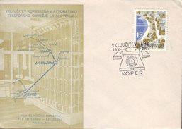 SLOVENIA - AUTOMATIC TELEPHONE CENTRAL - KOPER - 1962 - Slovenia