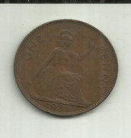 E-Penny 1938 Inglaterra - D. 1 Penny