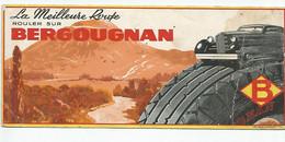 BUVARD - PNEUMATIQUE BERGOUGNAN - PUY DE DOME - MICHELIN - Automotive