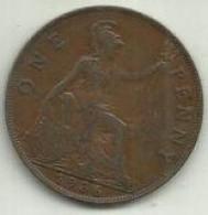 E-Penny 1936 Inglaterra - D. 1 Penny