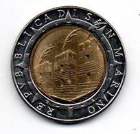 San Marin 500 Lires 1992 R SUP - San Marino