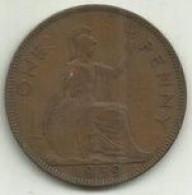 E-Penny 1939 Inglaterra - D. 1 Penny
