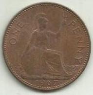 E-Penny 1967 Inglaterra - D. 1 Penny