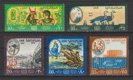Egypt - 1967 - ( International Tourist Year - Ramses II And Queen Nefertari ) - MNH (**) - Archaeology