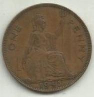 E-Penny 1945 Inglaterra - D. 1 Penny