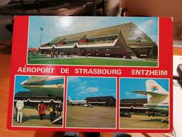 FRANCE AERODROME AIRPORT STRASBOURG ENTZHEIM - Aerodromi