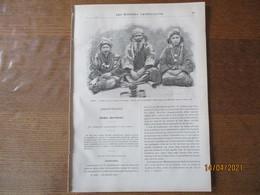 LES MISSIONS CATHOLIQUES DU 29 JANVIER 1897 JAPON TYPES D'AÏNOS,UN ETE AU JAPON BOREAL,LES PYGMEES,SOUVENIRS DU TONKIN - Riviste - Ante 1900