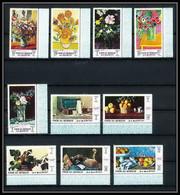 090 - Umm Al Qiwain MNH ** Mi N° 275 / 284 A Peinture (painting) Still Lifes Nature Morte Van Gogh Renoir Manet Matisse - Umm Al-Qaiwain