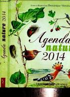 Agenda Nature 2014 - Mansion Dominique - 2013 - Blank Diaries