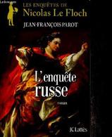 """L'enquête Russe, Roman (Série """"Les Enquêtes De Nicolas Le Floch"""") - Parot Jean-François - 2012 - Other"""