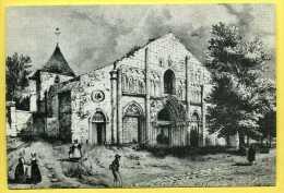 16 Ruffec Vue Ancienne De La Façade De L' église Saint André - Ruffec