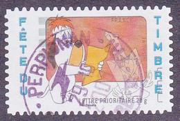 160 France 2008 Oblitéré Autoadhésif Fête Du Timbre Tex Avery Droopy Et Le Loup - Autoadesivi