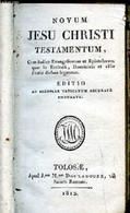 Novum Jesu Christi Testamentum - Collectif - 1812 - Cultural