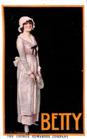 Folkestone - Pleasure Gardens Theatre - The George Edwardes Company In Betty - Folkestone