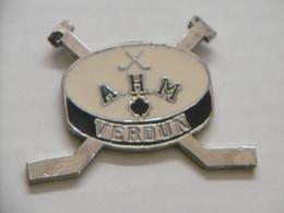 Pin's - HOCKEY VERDUN Association Du Hockey Mineur De Verdun - Pins Pin Badge QUEBEC CANADA AHM VERDUN - Unclassified