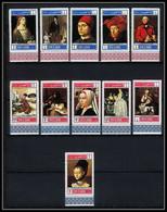 489a Umm Al Qiwain MNH ** N° 243 / 253 A Tableau Tableaux Paintings By Old Masters Durer David Watteau Eyck Cote 15 Euro - Umm Al-Qaiwain