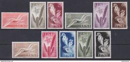 IFNI 1954 - Flora Y Fauna Serie Nueva Sin Fijasellos Edifil Nº 103/113 -MNH- - Ifni