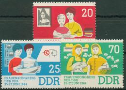 DDR 1964 Frauenkongreß 1030/32 Postfrisch - Ongebruikt