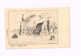 L'Eglise En 1700 - Dinant