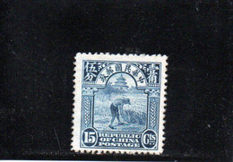 CHINE 1922-33 * - 1912-1949 Republik
