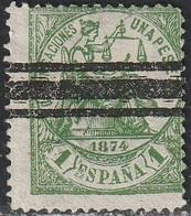 1874. * Edifil: 150S. ALEGORIA DE LA JUSTICIA. BARRADO - Neufs